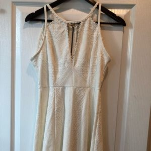 Free People Missed connections white lace dress